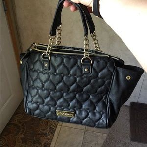 Large Betsey Johnson quilted purse